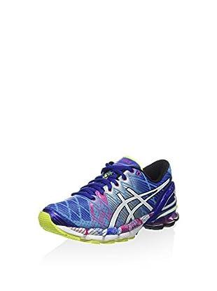 Asics Zapatillas de Running Gel-Kinsei 5 (Azul / Blanco / Rosa)