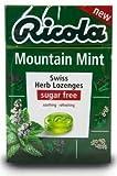 Ricola Boîte pastilles menthe fraîche de montagne 45g lot X20