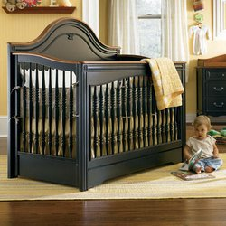 Picture of Ma Marie Built to Grow Crib - Antique Black B000VZW5RK (Young America Collection)