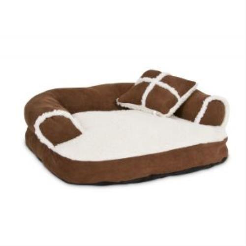 Petmate Pet Bed 20 In. X 16 In. Suede Asstd Colors