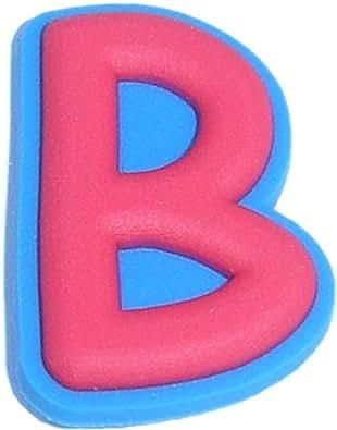 Amazoncom letter b shoe snap charm jibbitz croc style shoes for Croc jibbitz letters