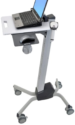 "Ergotron Neo-Flex Laptop Cart Grey computer desk - computer desks (Grey, 6.8 kg, 51 cm, 23.6 kg, 552 x 380 x 1150 mm, 43.2 cm (17""))"