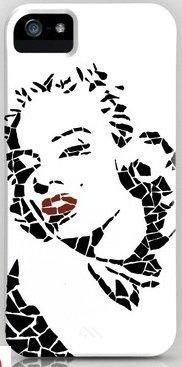 並行輸入品マリリン・モンロー society6 iphone 5/5sケース (Monroe2)