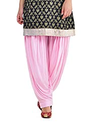 Pietra Pink colored Pan Style Dhoti