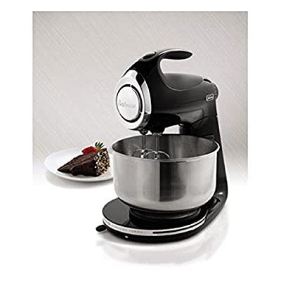 Heritage Series Stand Mixer, Heavy Die - Cast Metal Construction and Rubber Feet, 350w, Black. by Sunbeam