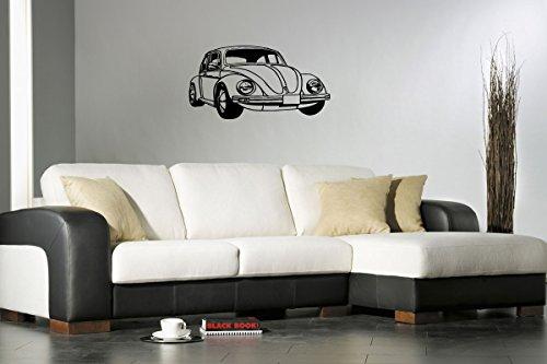 Vw Volkswagen Beetle Bug Car Wall Decal Nursery Room Mancave Garage Dealership Gm2274