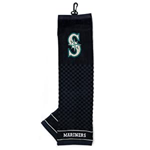 MLB Seattle Mariners Embroidered Towel, Navy