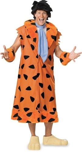 Rubie's Fred Flintstone Fancy Dress. Standard size. Yabba Dabba Doo! Become Bedrock's most well-known character.