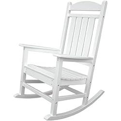 Presidential Rocker Frame Color: White