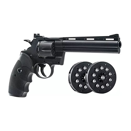 Umarex Colt 6″ Python .177 CO2 Air Gun, Black