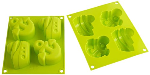 Silikomart Silicone Baby Line Bakeware Collection, Happy Summer