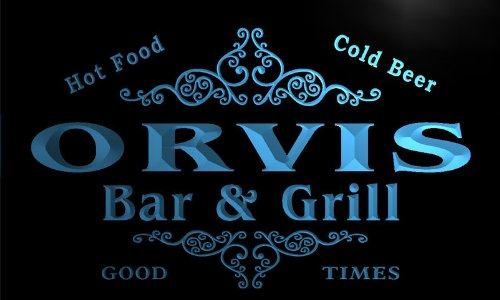u33475-b-orvis-family-name-bar-grill-home-brew-beer-neon-sign-enseigne-lumineuse