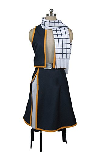 Ya-cos Fairy Tail Dragon Slayer Demon-Lord Natsu Dragneel Cosplay Costume Outfit Suit