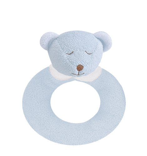 Angel Dear Ring Rattle, Blue Bear