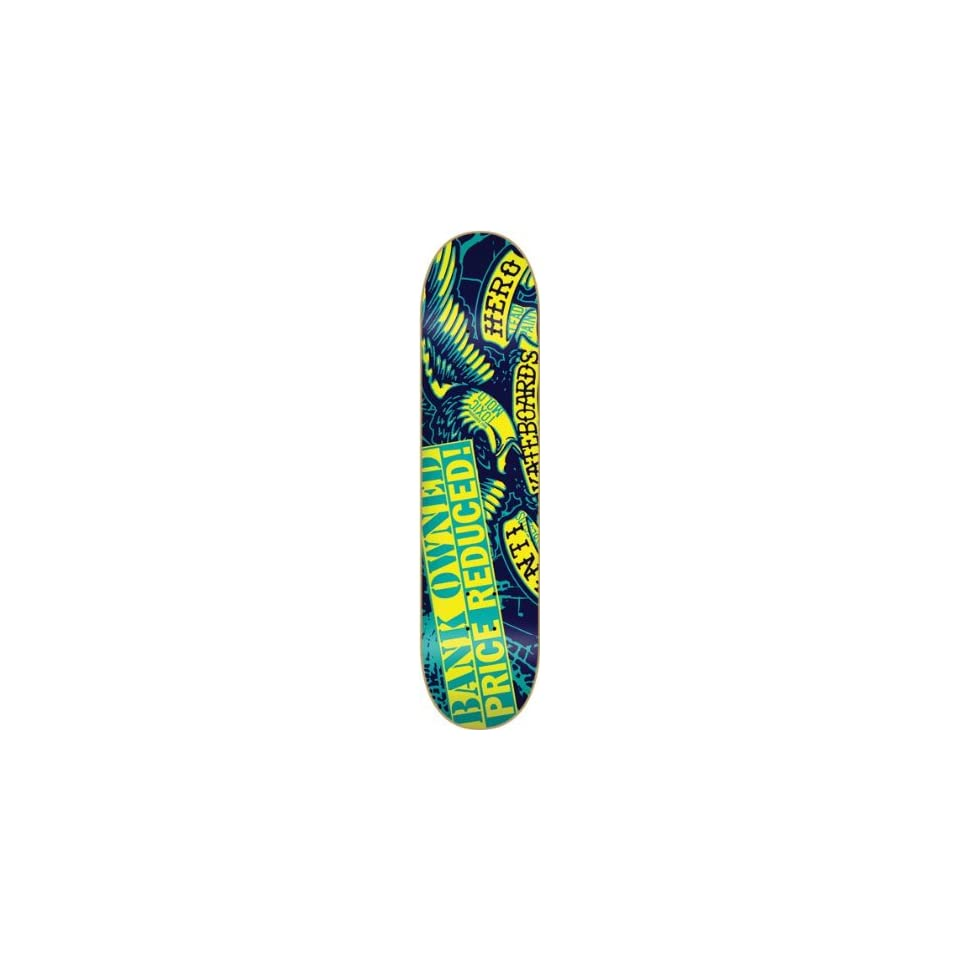 ca20025e012 Anti Hero Forclosure Medium Deck 8.12 Blue Ppp Skateboard on PopScreen