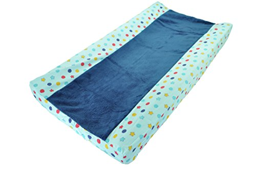 kidsline Play Changing Pad Cover, Robots (Discontinued by Manufacturer)