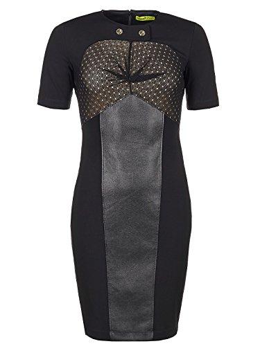 Versace Jeans Couture Kleid (F-03-Kl-33276) - 38(DE) / 44(IT) / M(EU) - schwarz