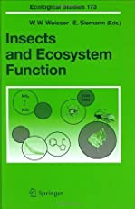 Insects and Ecosystem Function (Ecological Studies)