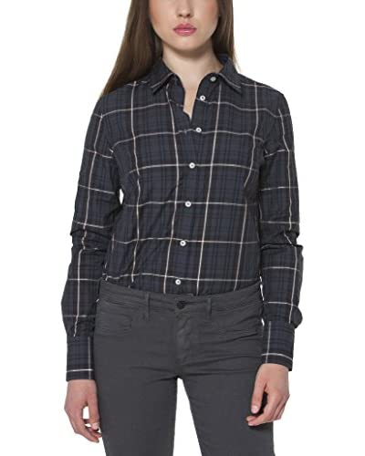 Fred Perry Camisa Mujer Negro