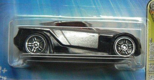 Mattel Hot Wheels 2005 1:64 Scale First Editions Realistix Silver Symbolic 12/20 Die Cast Car #012 - 1
