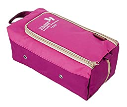 Travel Shoe Bag Shoe Dustproof Bag Waterproof Storage Bag PINK
