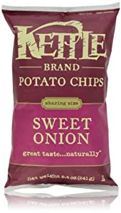 Kettle Chips, Sweet Onion, 8.5 Oz
