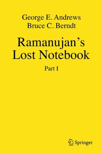 Download Ramanujan's Lost Notebook: Pt. 1