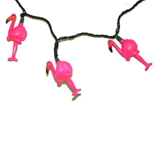 Pink Flamingo Light String Set
