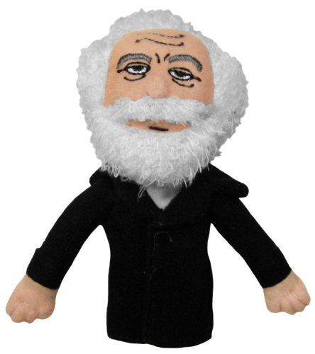 Karl Marx Finger Puppet and Refrigerator Magnet - By The Unemployed Philosophers Guild - 1