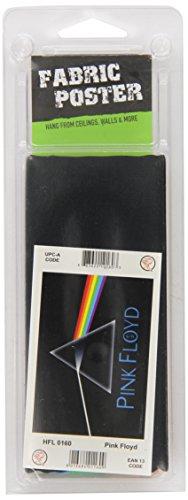 Heart Rock Licensed Bandiera Pink Floyd - Dark Side Of The Moon, Tessuto, Multicolore, 110X75X0,1 cm