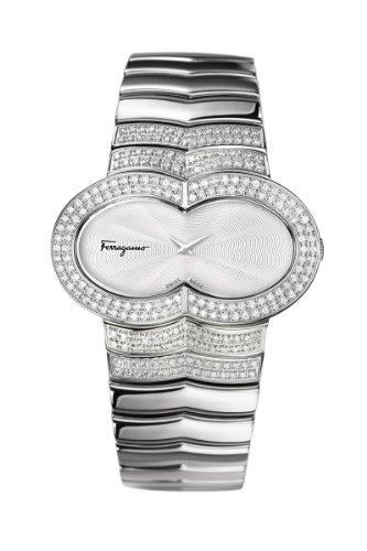 Ferragamo Women's F59SBQ9102 S991 Assoluto Diamond Stainless Steel Watch