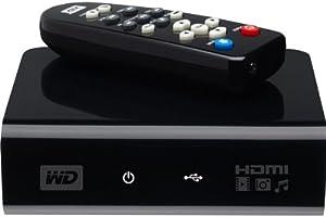 Western Digital WD TV HD Media Player Lecteur Multimedia Haute Definition WDAVP00BE