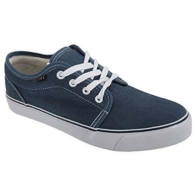 dek mens 4 eye denim canvas deck shoes shoes