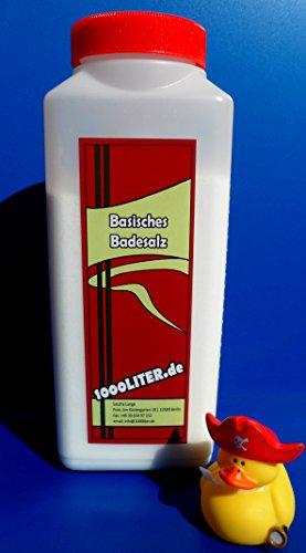 1.000 g Basisches Bade-Salz