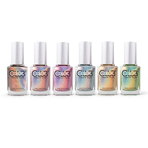 color-club-hues-6pcs-collection-cloud-nine-angles-kiss-harp-on-it-holographic-by-color-club