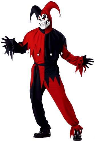 California-Costumes-Mens-Adult-Red-Evil-Jester-Costume