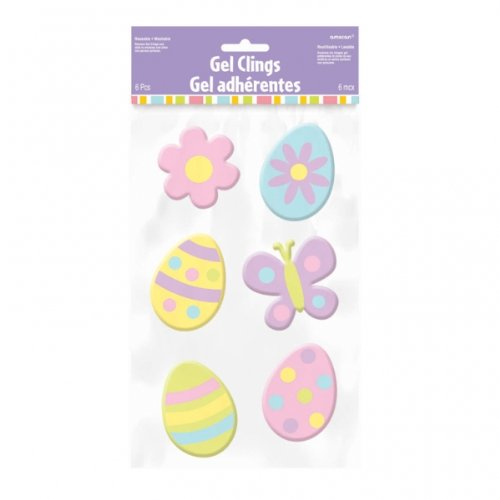 Easter Gel Clings Party Accessory