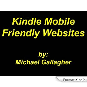 Kindle Mobile Friendly Websites (English Edition)