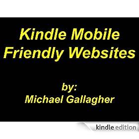 Kindle Mobile Friendly Websites