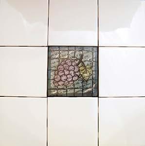mixed media stained glass 4 x 4 wall tiles kitchen backsplash ti