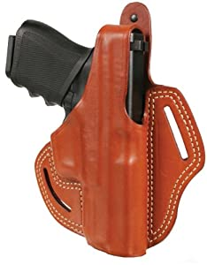 BLACKHAWK! Leather Cutaway Holster (Brown fits 1911 Gov