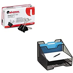 KITROL1742322UNV10200 - Value Kit - Rolodex Combination Sorter (ROL1742322) and Universal Small Binder Clips (UNV10200)