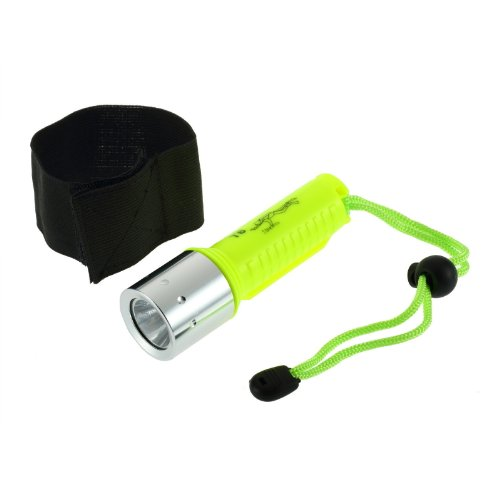 New 1600Lm Cree Xml-T6 Led Waterproof Diving Flashlight Torch Hs