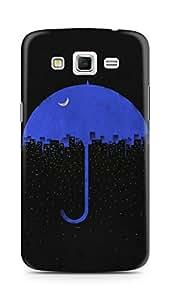 Amez designer printed 3d premium high quality back case cover for Samsung Galaxy Grand 2 G7102 (Night Umbrella City)