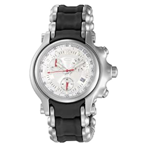 Oakley Men's 10-248 Holeshot Stainless Steel Bracelet Edition Chronograph Watch