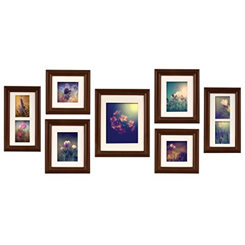 Pinnacle Frames and Accents 7-Piece Photo Frame Set ...
