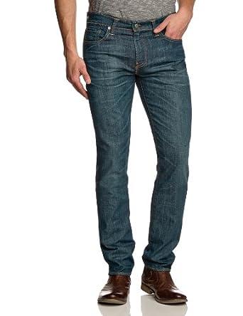Levi's Homme 511 Slim Fit Jeans, Bleu (Explorer), W34/L32