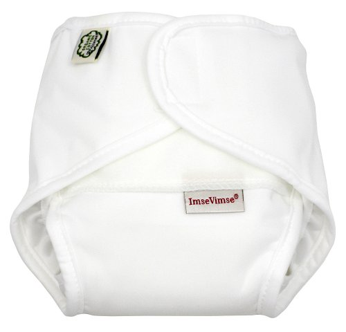 Imse Vimse All-in-one Diaper - New Sizing - White - S