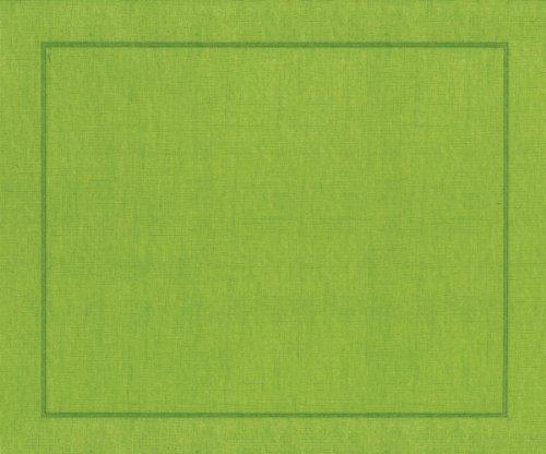 Caspari Papier-Tischsets, Moosgrün, 10 Stück