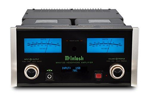 McIntosh Labs Headphone/Audio Component Amplifier, Black